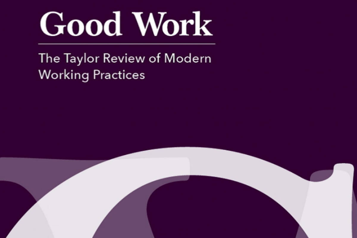 An Update to The Taylor Review
